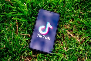 tiktok on a smartphone